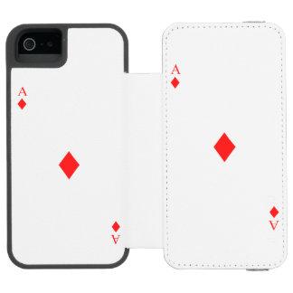 Ace of Diamonds Incipio Watson™ iPhone 5 Wallet Case