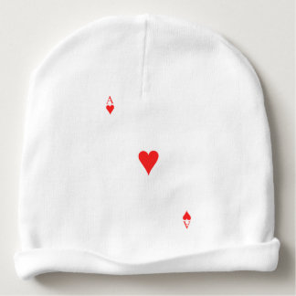Ace of Hearts Baby Beanie