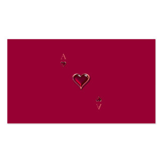 Ace of Hearts Personal/Business Cards Pack Of Standard Business Cards
