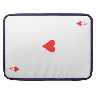 Ace of Hearts Sleeve For MacBook Pro