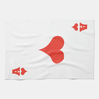 Ace of Hearts Towel