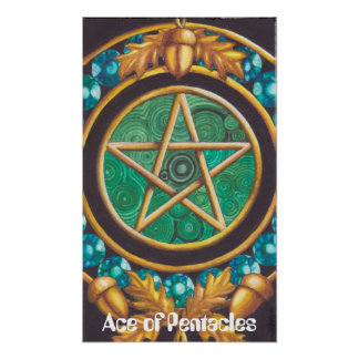 Ace of Pentacles Poster