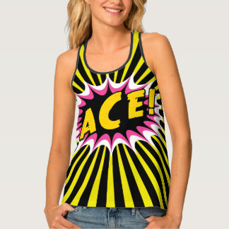 Ace of Spades All-Over Print Tank Top