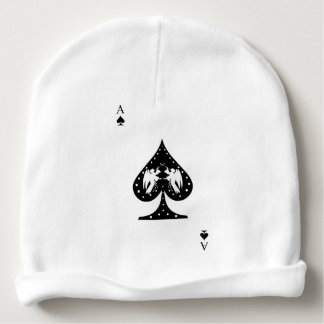 Ace of Spades Baby Beanie