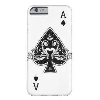 Ace of Spades Barely There iPhone 6 Case