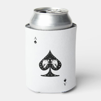 Ace of Spades Can Cooler