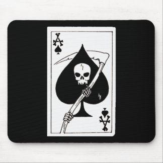 Ace Of Spades Card Of Death Mousepad