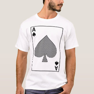 Ace Of Spades Card T Shirt