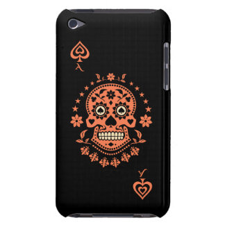 Ace of Spades Day of the Dead Sugar Skull iPod Touch Cover