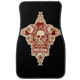 Ace of spades floor mat
