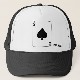 ace of spades hat. trucker hat
