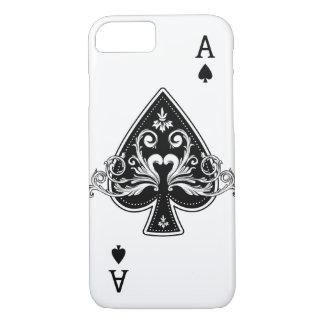 Ace of Spades iPhone 8/7 Case