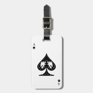 Ace of Spades Luggage Tag