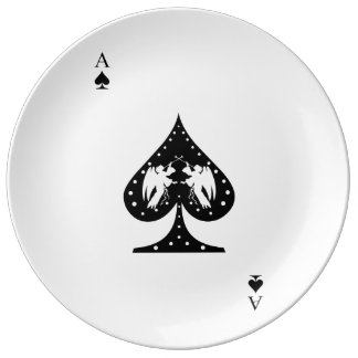Ace of Spades Plate