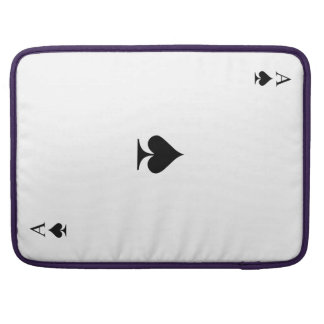 Ace of Spades Sleeve For MacBook Pro