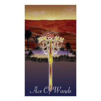 Ace Of Wands Poster 2