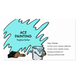 Ace Painting Business Card Templates