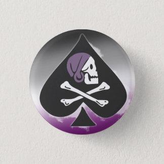 Ace Pirate 3 Cm Round Badge