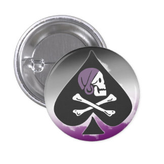 Ace Pirate 3 Cm Round Badge