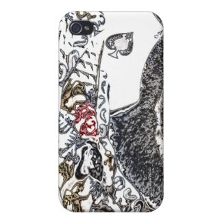 """""""Ace Roses"""" iPhone 4/4S Cases"""
