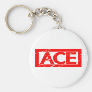 Ace Stamp Key Ring