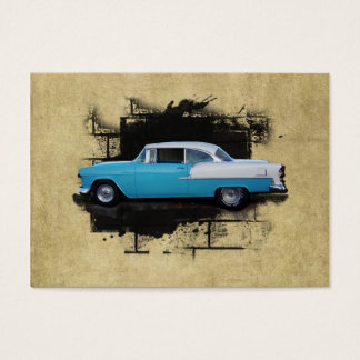 ACEO- 1955 Chevy Bel Air- Classic Car- Mini Print Business Card
