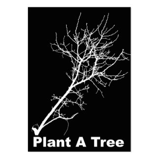 ACEO ATC plant a tree Business Card Templates