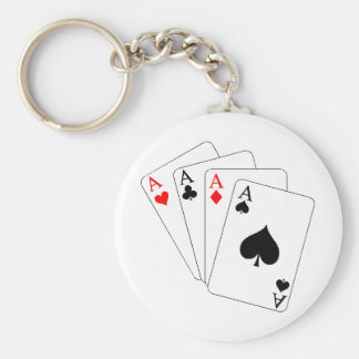 Aces Key Ring