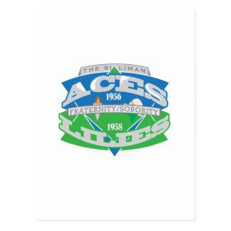 Aces-Lilies Logo Souvenier Postcard