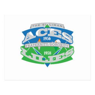 Aces-Lilies Logo Souvenier Postcards