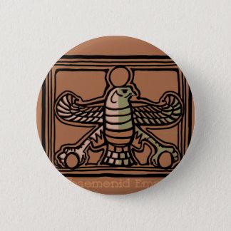 Achaemenid Empire by AncientAgesPrints 6 Cm Round Badge