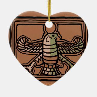Achaemenid Empire by AncientAgesPrints Ceramic Heart Decoration