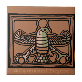 Achaemenid Empire by AncientAgesPrints Ceramic Tile