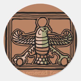 Achaemenid Empire by AncientAgesPrints Classic Round Sticker