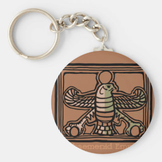 Achaemenid Empire by AncientAgesPrints Key Ring