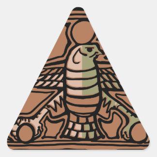 Achaemenid Empire by AncientAgesPrints Triangle Sticker