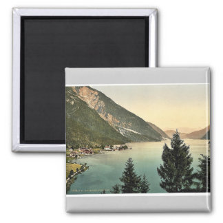 Achensee, Pertisau, Tyrol, Austro-Hungary rare Pho Square Magnet