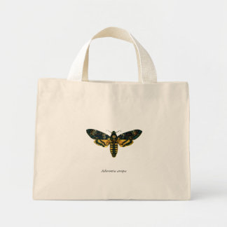 Acherontia atropos canvas bags