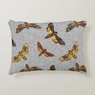 Acherontia Lachesis - Death's-head Hawkmoth Accent Cushion