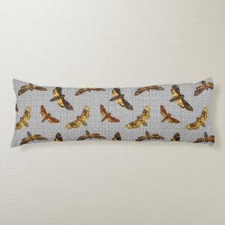 Acherontia Lachesis - Death's-head Hawkmoth Body Cushion