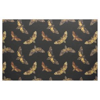 Acherontia Lachesis - Death's-head Hawkmoth Fabric