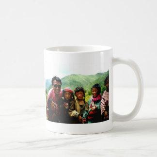 achi&kids3 classic white coffee mug