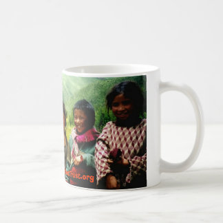 achi&kids3, www.ChildrenOfTibetTrust.org Basic White Mug
