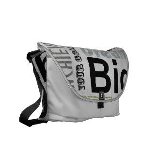 Achievable Dreams Messenger Bags