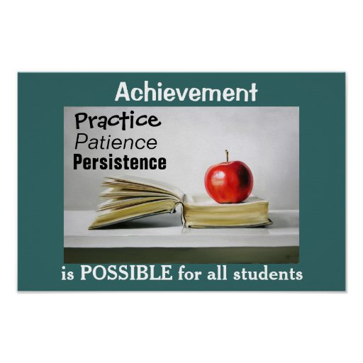 Achievement is for ALL Poster