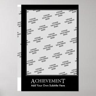 Achievement Poster Motivational Template
