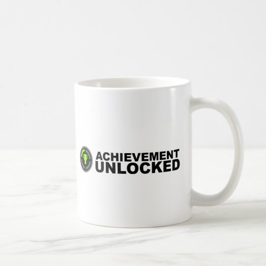 Achievement Unlocked Coffee Mug