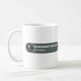 Achievement Unlocked - Got Engaged Basic White Mug