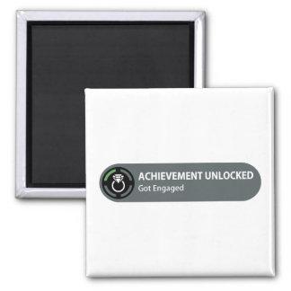 Achievement Unlocked - Got Engaged Magnet