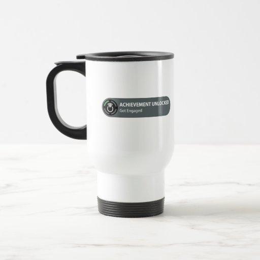 Achievement Unlocked - Got Engaged Coffee Mugs